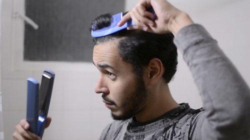 صاف کردن موی فر و موج دار