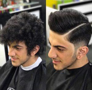 کراتینه و صافی مو مردانه