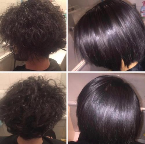 لخت کردن مو با صافی ژاپنی