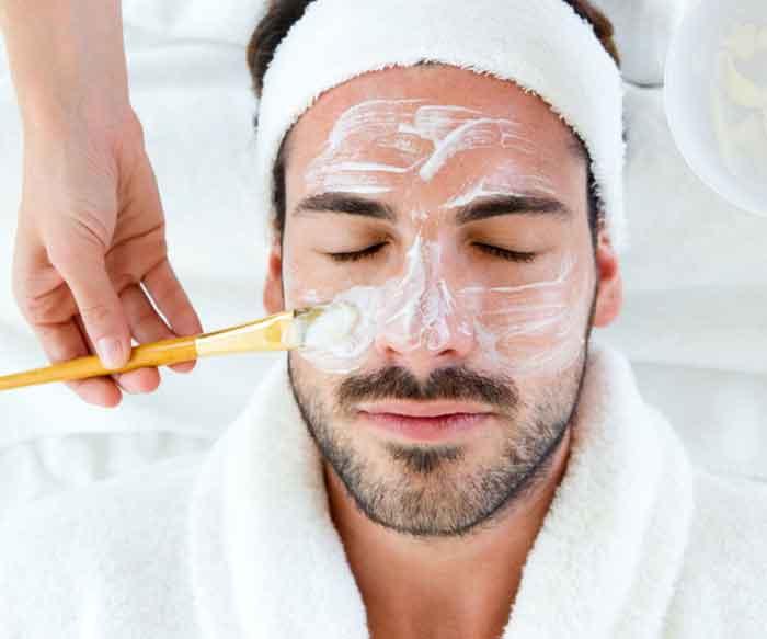 پاکسازی و لایه برداری پوست داماد